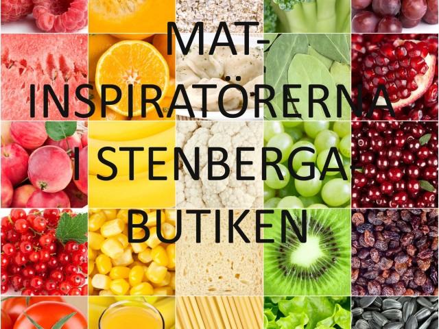 Nu startar vi Matinspiratörerna i Stenbergabutiken