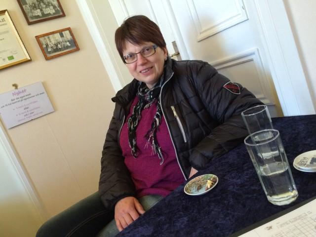 Birgitta – nästan alltid på plats!